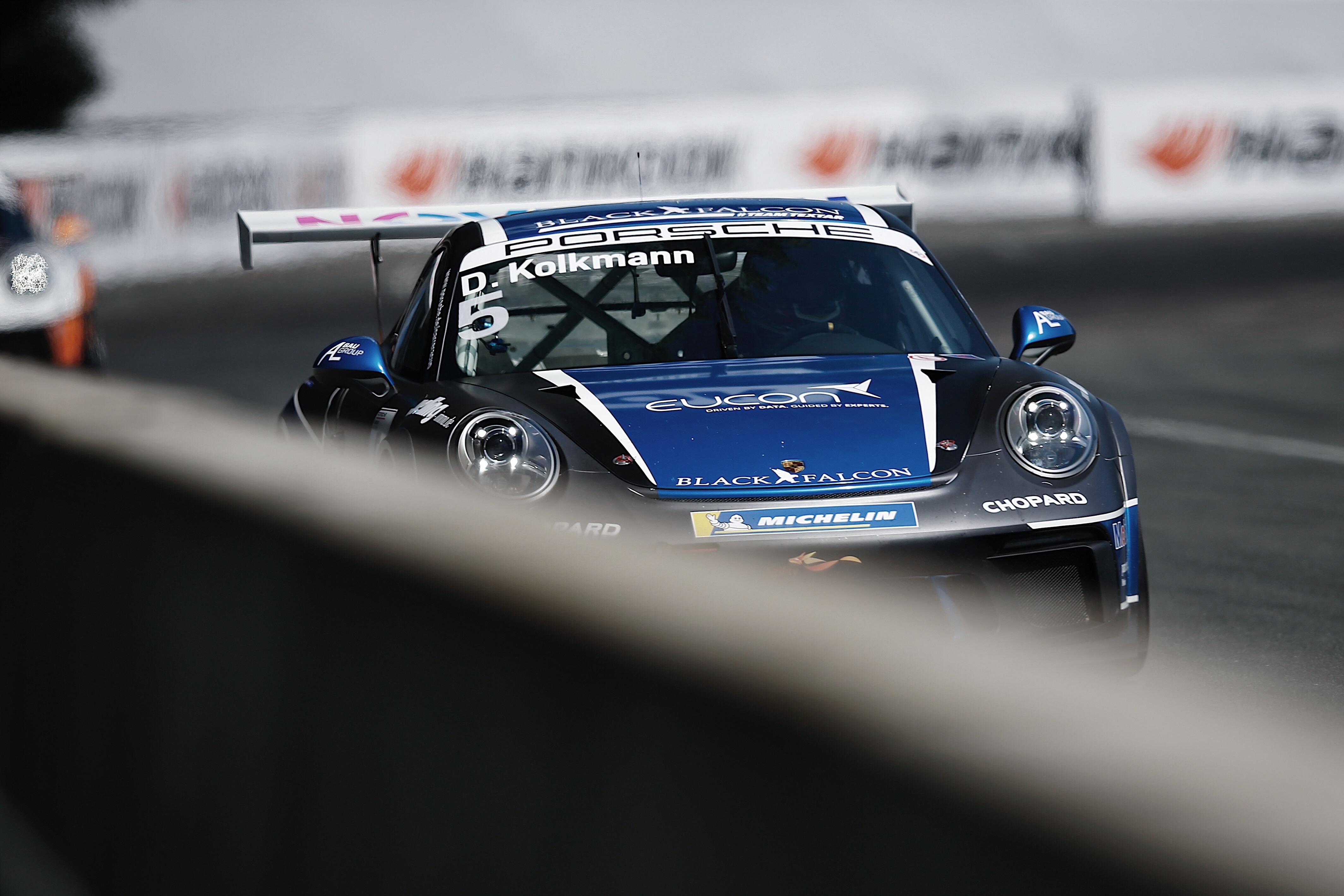 Porsche 911 GT3 Cup, David Kolkmann (D),  Porsche Carrera Cup Deutschland, Norisring 2019