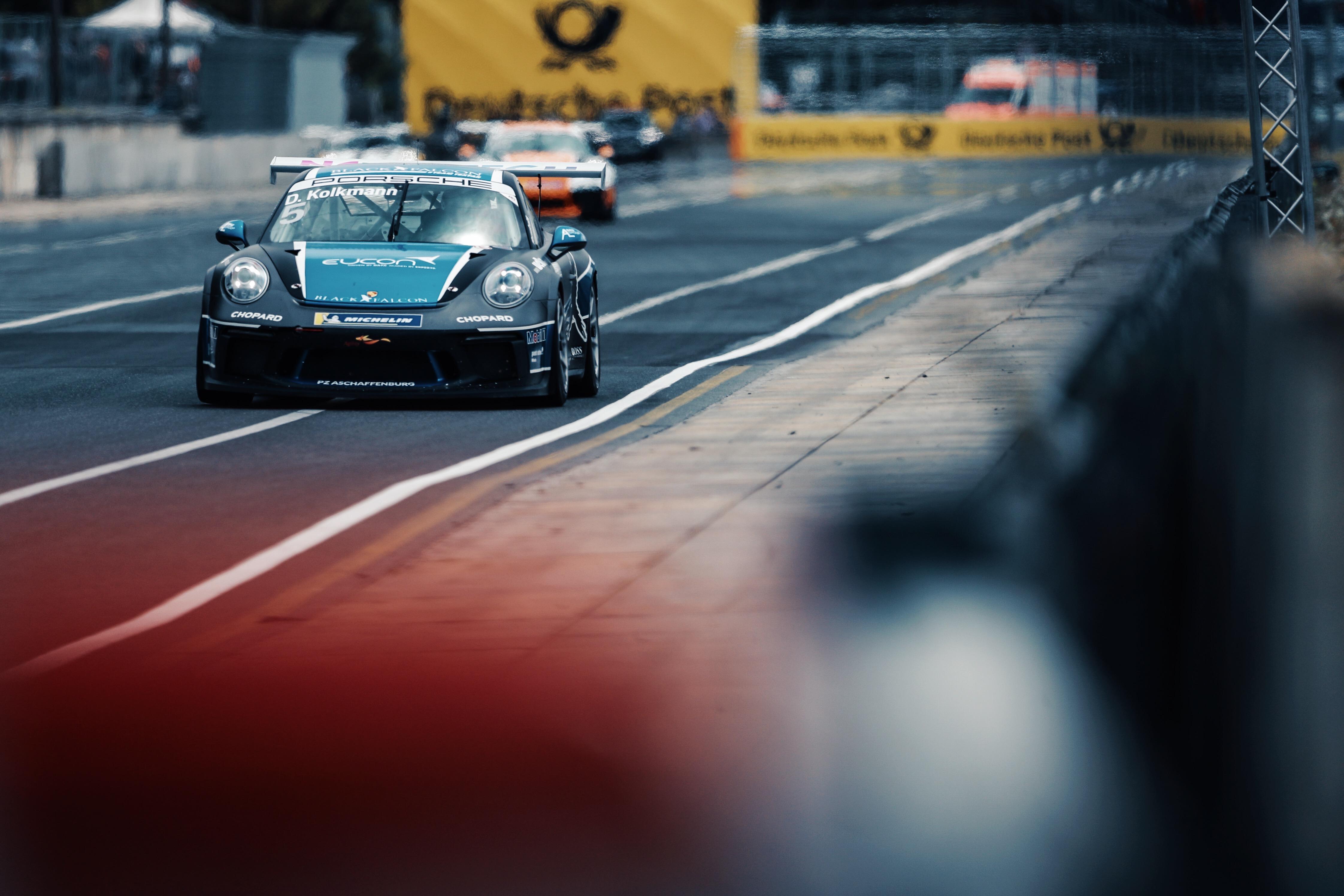 Porsche Carrera Cup Deutschland, 7. + 8. Lauf Norisring 2019 - Foto: Gruppe C Photography; #5 Porsche 911 GT3 Cup, BLACK FALCON: David Kolkmann Processed with VSCO with u3 preset