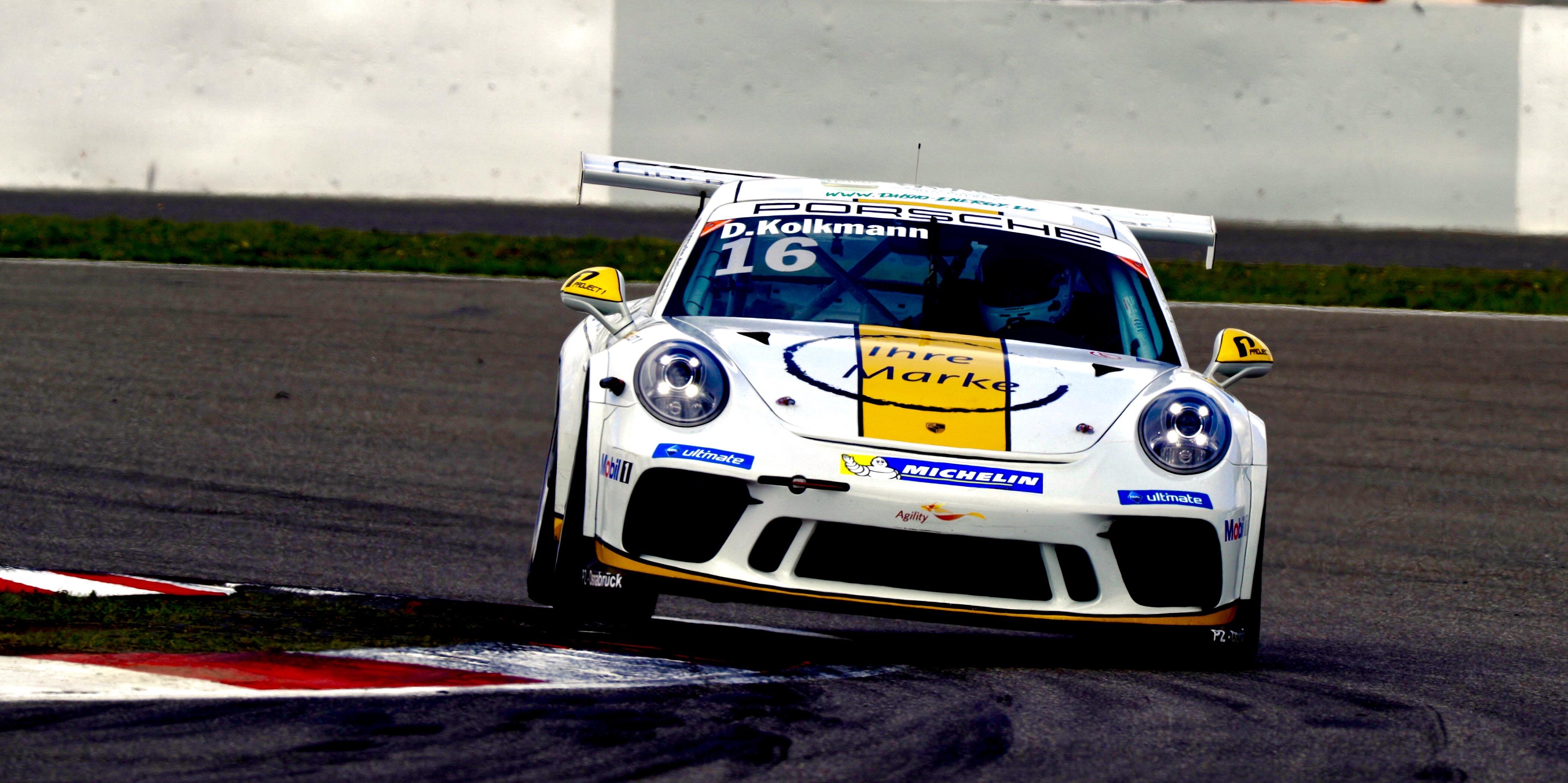 David Kolkmann (D) Porsche Carrera Cup Deutschland - 06 Nürburgring 2017