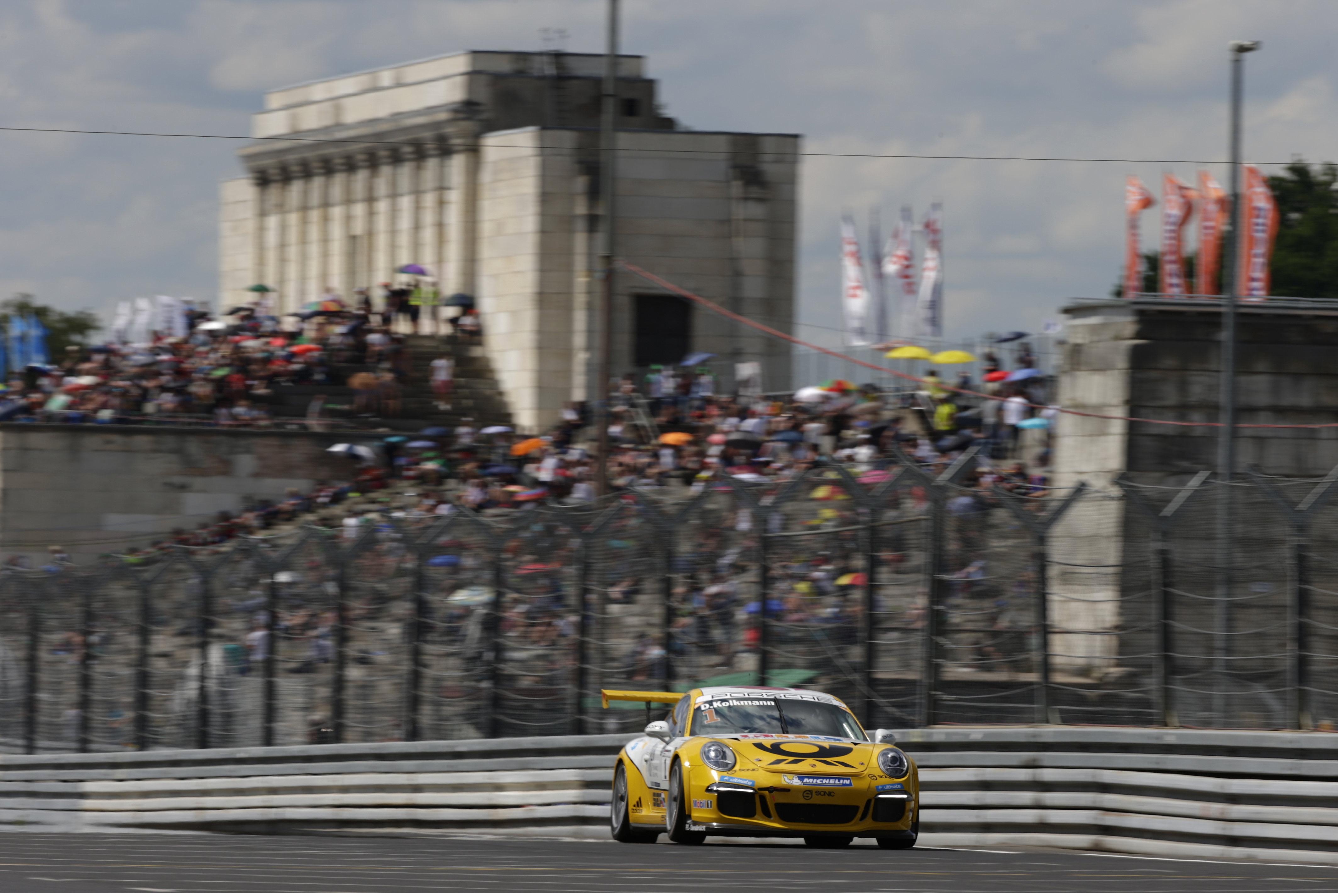 David Kolkmann (D) Porsche Carrera Cup Deutschland - 05 Norisring 2016